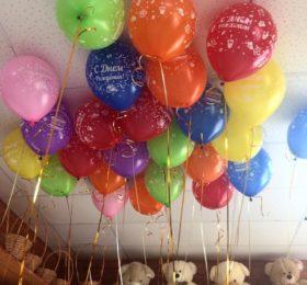 Шар «С Днем рождения» (1 шт)