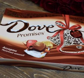 Конфеты «Dove»