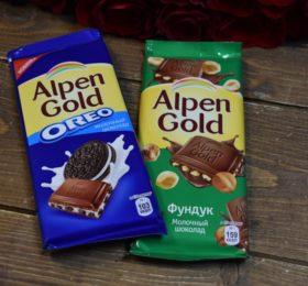 Шоколад «Alpen Gold»