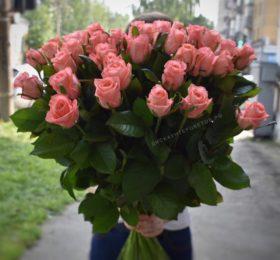 Роза (80 см) — 21 штука