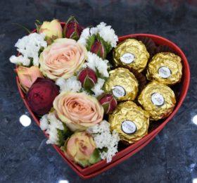 Коробочка с Ferrero Rocher