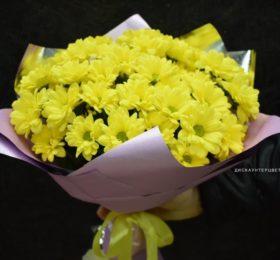 Букет хризантем (Акция)9 шт