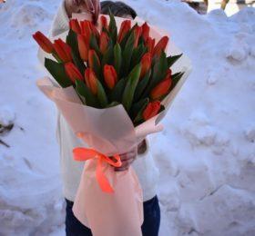 Букет Тюльпанов 31 шт