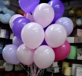 Фонтан из 25 шариков