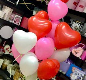 Фонтан из 13 шариков