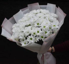 Букет хризантем 15шт