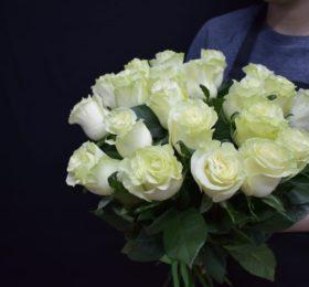 Букет 21 Роза не ленте
